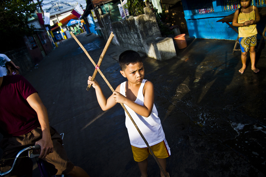 Philippines Easter Processions Crucifixions